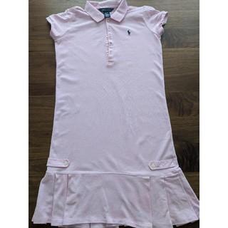POLO RALPH LAUREN - ラルフローレン ポロシャツ ワンピース ピンク