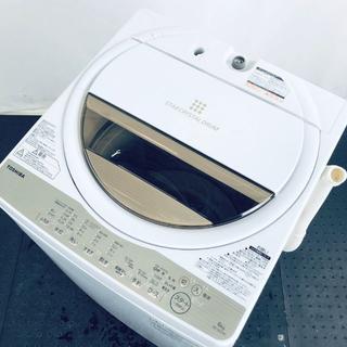 ★送料・設置無料★ 東芝 洗濯機 17年 AW-6G5 (No.0280)