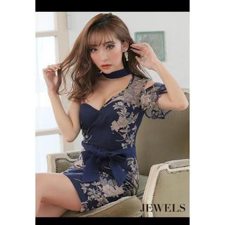 ジュエルズ(JEWELS)のJEWELS♡ワンショルダーキャバドレス新品(ナイトドレス)