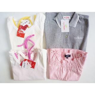 オゾック(OZOC)の新品 まとめ売り4点  ブランド品 子供服 女の子 半袖 サイズ110(ブラウス)