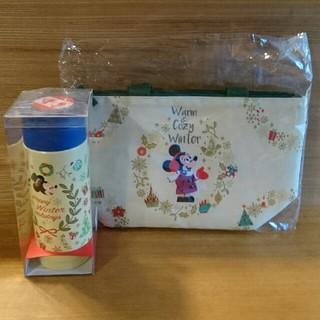 Disney - ディズニー クリスマス ステンレスボトル ランチバッグ