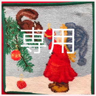 FEILER - フェイラー ハンカチ 2019 クリスマス グリーン