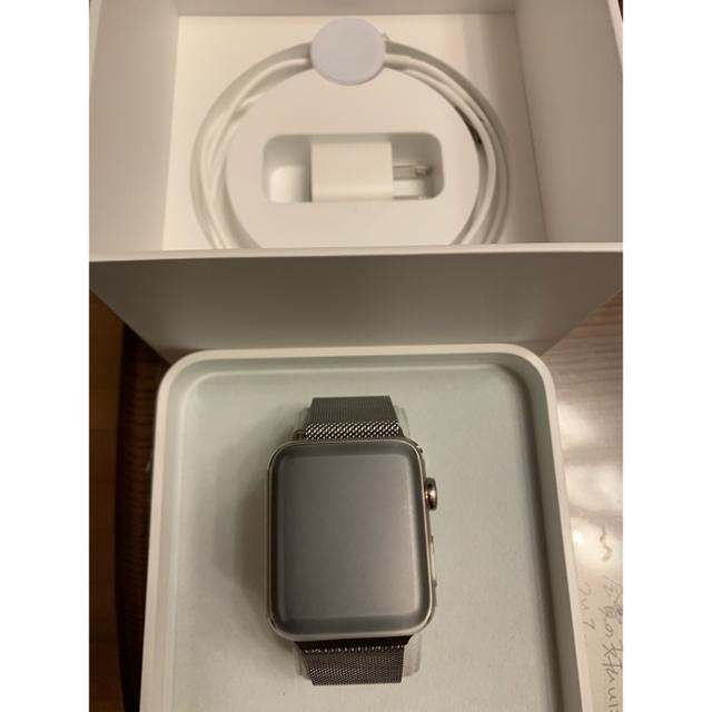 Apple Watch - Apple Watch Series2 42mm (ステンレス)の通販