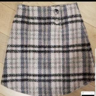 L'EST ROSE - レストローズ スカート チェック 美品