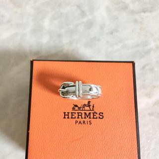 エルメス(Hermes)の正規品 エルメス 指輪 サンチュール シルバー ベルト 銀 SV925 リング(リング(指輪))