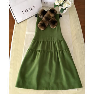 FOXEY - フォクシー foxey Dress Tiered ワンピース