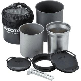 シンフジパートナー(新富士バーナー)のSOTO サーモスタッククッカーコンボ SOD-521 アウトドア 調理(調理器具)