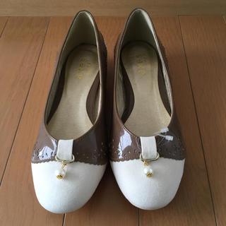 axes femme - 新品★axes♪ パールつき薔薇モチーフパンプス M 23 23.5 靴