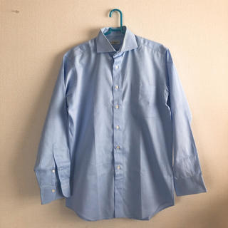 カミチャニスタ(CAMICIANISTA)のカミチャイオ CAMICIAIO スーツ シャツ ビジネス ワイシャツ ブルー(シャツ)