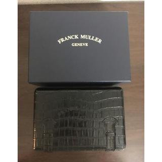 フランクミュラー(FRANCK MULLER)のフランクミュラー 純正 クロコ型押し 時計 ケース レディース (その他)