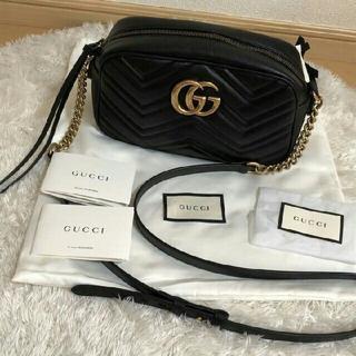 Gucci - GUCCI グッチ GG マーモント ショルダーバッグ Gucci
