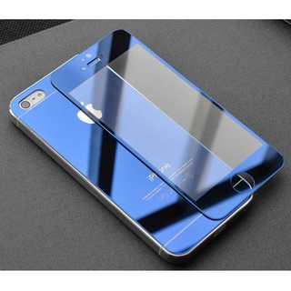 iPhone6/6s 青 前後 強化ガラスフィルム Quick Charge P
