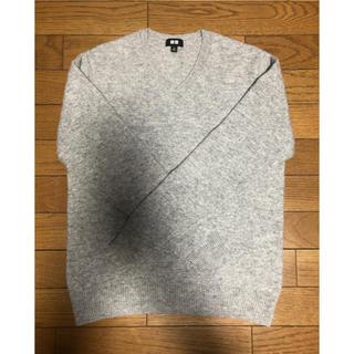 UNIQLO - UNIQLOプレミアムラムVネックセーター(メンズ)