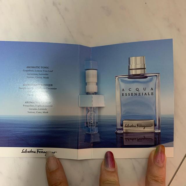 Salvatore Ferragamo(サルヴァトーレフェラガモ)のフェラガモ メンズ オーデトワレ 1.5ml コスメ/美容の香水(香水(男性用))の商品写真