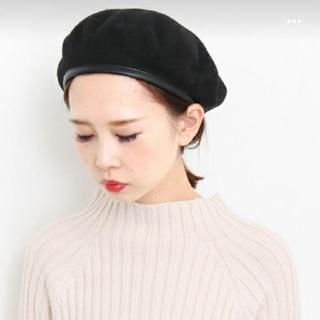 ケービーエフ(KBF)の専用 KBF パイピングベレー帽(ハンチング/ベレー帽)