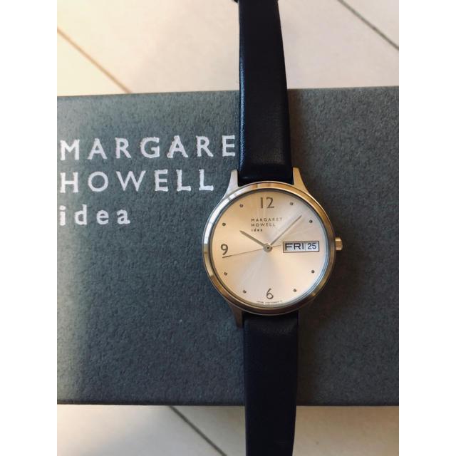 MARGARET HOWELL - MARGARET HOWELL idea シルバー×ネイビー腕時計☺︎❥❥の通販