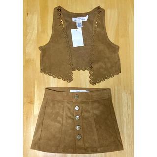 エイチアンドエム(H&M)の新品タグ付き ベスト スカート(スカート)