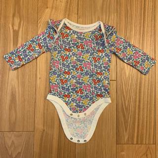 babyGAP - babyGAP 花柄ロンパース 70cm 6-12months