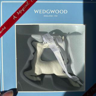 ウェッジウッド(WEDGWOOD)のウェッジウッド トナカイ オーナメント(置物)
