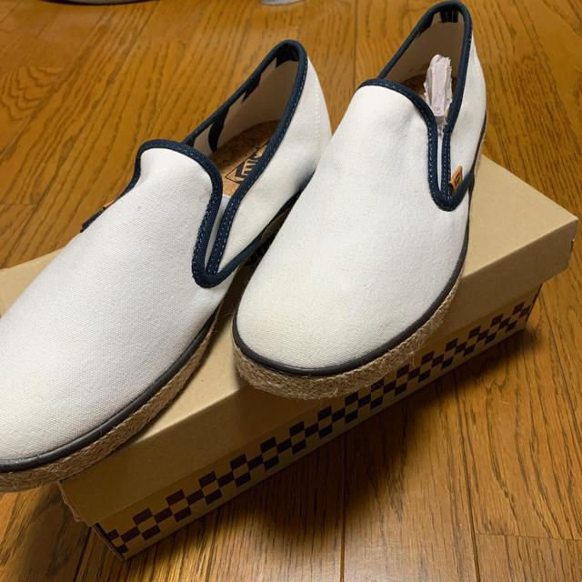 VANS(ヴァンズ)のVANS 27.5 未使用 スニーカー スリッポン メンズの靴/シューズ(スリッポン/モカシン)の商品写真