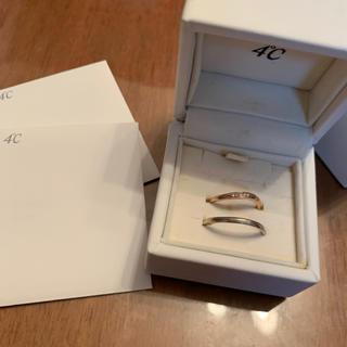 ヨンドシー(4℃)の4°C ダイヤモンド ⋈ ペアリング (リング(指輪))