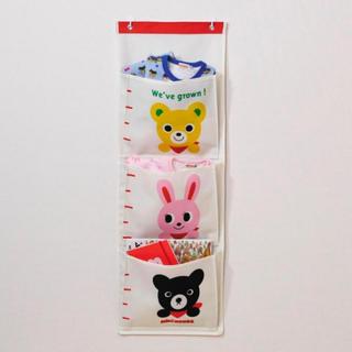 ミキハウス(mikihouse)のミキハウス ウォールポケット、ギフトボックス、袋(おもちゃ/雑貨)