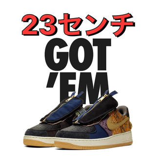 ナイキ(NIKE)のTravis Scott air force 1(スニーカー)