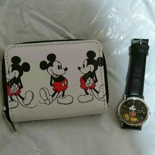 シップス(SHIPS)のmini付録シップスお財布、ミッキー腕時計(財布)
