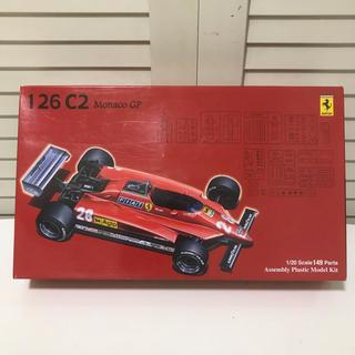 フェラーリ(Ferrari)のフジミ模型 フェラーリ F1 126 C2 1/20 Ferrari プラモデル(模型/プラモデル)
