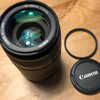 Canon - Cannon EF-S LENS 55-250mm f/4-5.6  IS