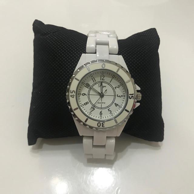 新品・未使用 メンズ 腕時計 セラミックホワイトの通販