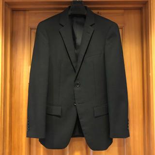 オリヒカ(ORIHICA)のオリヒカ スーツ セットアップ ブラック シャドーストライプ 美品(セットアップ)