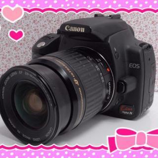 Canon - 【使いやすい!】カメラ女子 キャノン kissN レンズキット