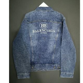 Balenciaga - バレンシアガ デニムジャケット ロゴ