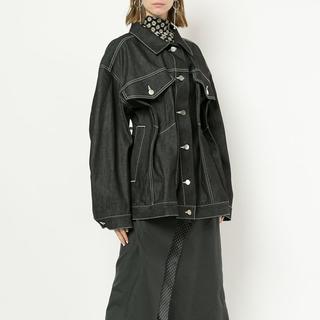 ルシェルブルー(LE CIEL BLEU)のIRENE デニムジャケット 値下げ可能 新品未使用(テーラードジャケット)