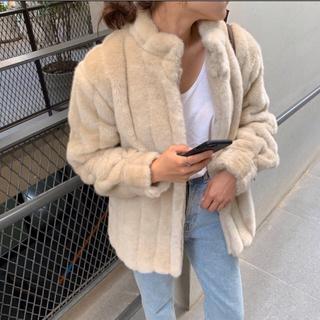 TODAYFUL - 新品未使用タグつき Eco fur short coat