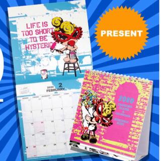 ヒステリックミニ(HYSTERIC MINI)の 新品ヒスミニ壁掛けカレンダー(カレンダー/スケジュール)