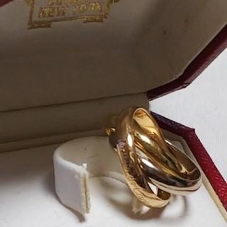カルティエ(Cartier)のカルティエリング#トリニティ8.2g(リング(指輪))
