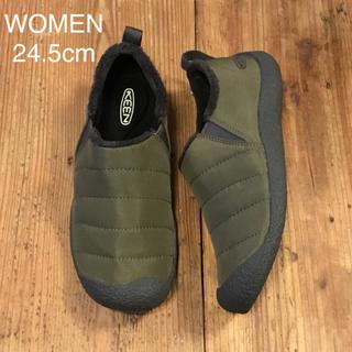 KEEN - KEEN ハウザーII WOMEN  24.5cm ダークオリーブ