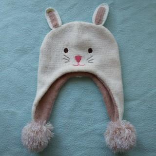 うさ耳 ニット帽 48-50cm