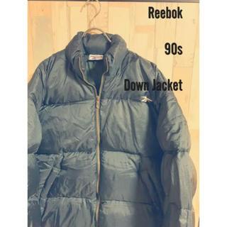リーボック(Reebok)のReebok ヌプシ ダウン 中古 90s ベクター ロゴ DRT2 ダート(ダウンジャケット)