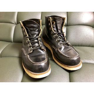 レッドウィング(REDWING)のレッドウィング(RED WING)8179 黒 7E(25.0-26.0cm)(ブーツ)