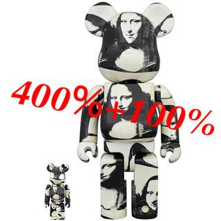 新品!400% ベアブリック ダブルモナリザ double Mona Lisa (その他)