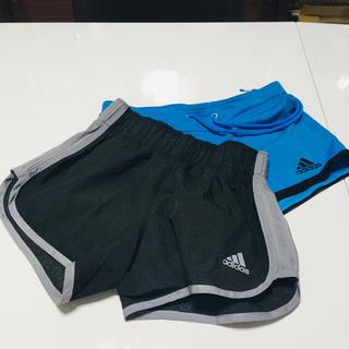 adidas - ランニングショートパンツ