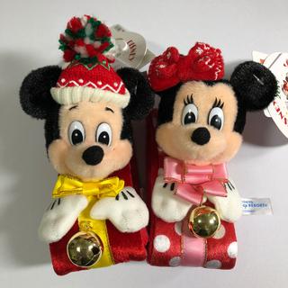 Disney - ディズニークリスマス2019 ディズニーランド ミッキーミニー ぬいぐるみバンド