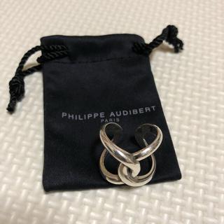 フィリップオーディベール(Philippe Audibert)のPHILIPPE AUDIBERT シルバーカラ―リング(リング(指輪))
