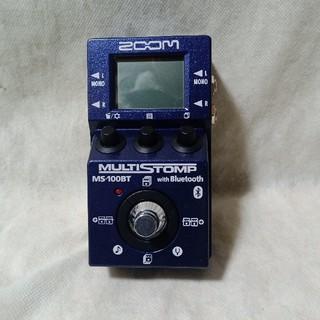 ズーム(Zoom)の【sakiGAKE様専用】 生産終了ZOOM MS-100BT 追加エフェクト入(エフェクター)