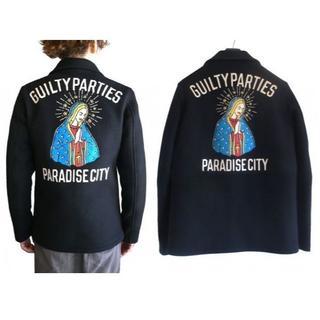ワコマリア(WACKO MARIA)のワコマリア PARADISE CITY ウール メルトン ジップ 中綿ジャケット(その他)