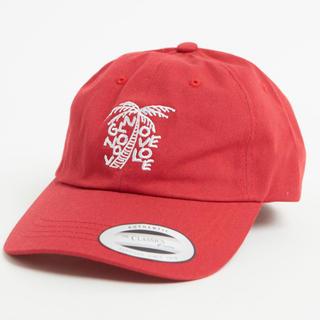 ウィゴー(WEGO)の【新品未使用】 パームツリー 赤 キャップ 帽子(キャップ)