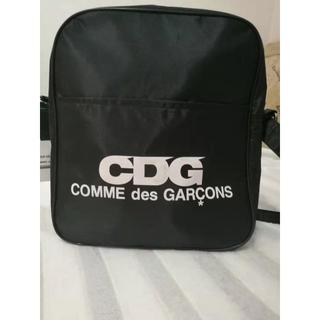 COMME des GARCONS - コムデギャルソンCDG エアライン ロゴ ショルダーバッグ 黒